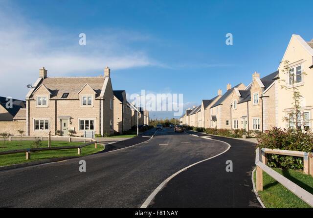 New Housing Development : New housing development bloor homes stock photos
