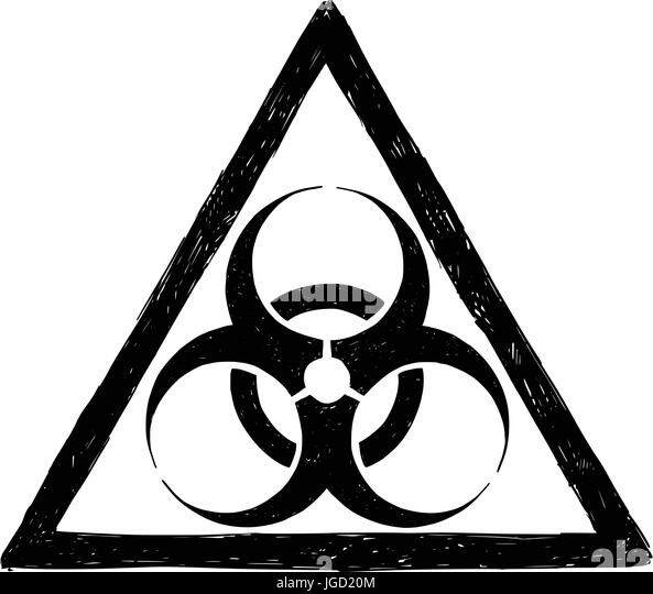 Biohazard Symbol Black And White Stock Photos Images Alamy