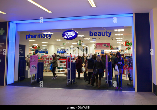 boots shop front stock photos boots shop front stock
