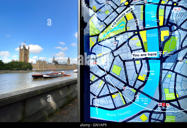 Map Of London Thames Photos and Map Of London Thames – Tourist Map of London England