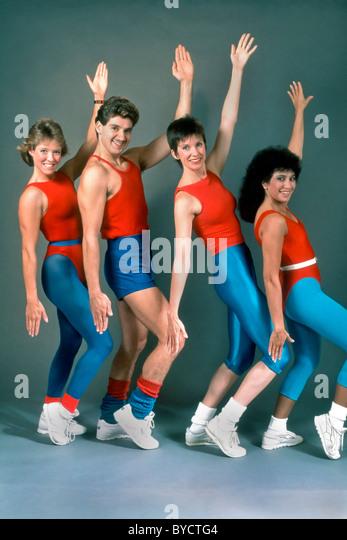 Aerobics 1980 S Stock Photos Amp Aerobics 1980 S Stock