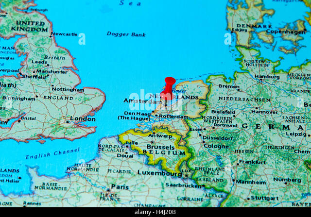 Geography Travel Netherlands Amsterdam City Stock Photos
