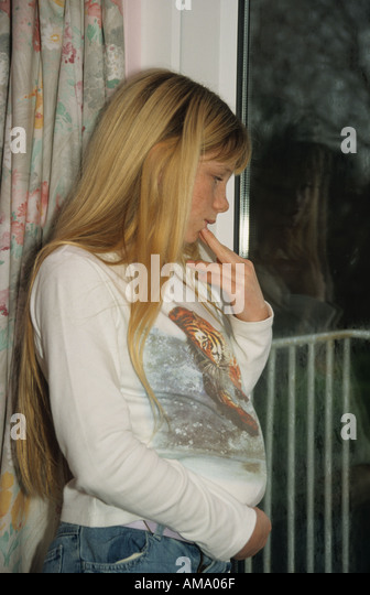 teenage pregnancy depressed stock photos amp teenage
