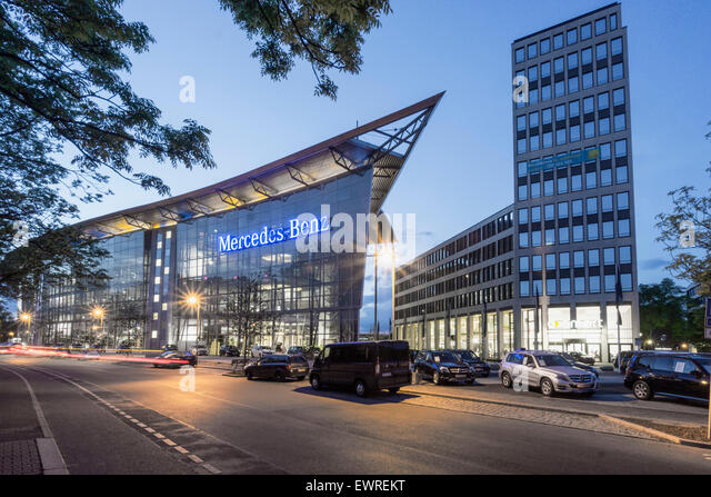 Berlin ag stock photos berlin ag stock images alamy for Mercedes benz headquarters