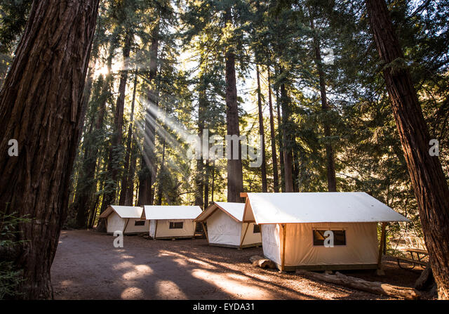 Tent Cabins Stock Photos Tent Cabins Stock Images Alamy