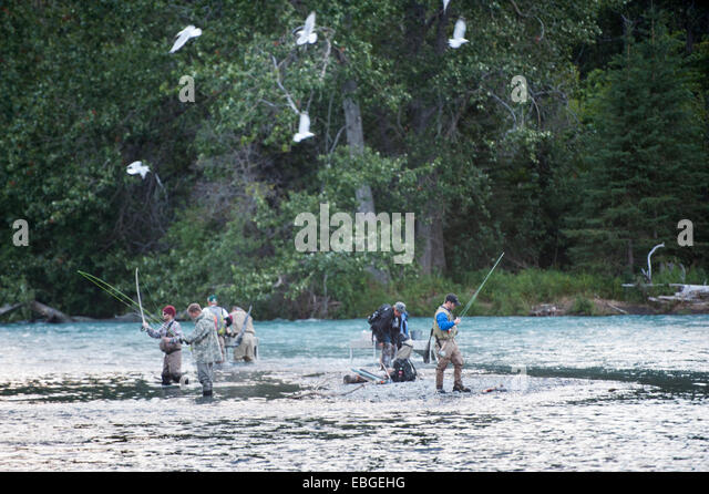 Kenai river alaska stock photos kenai river alaska stock for Russian river fishing