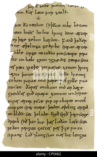 a review of the epic story beowulf But ''beowulf'' was also the first great poem in english we've heard the glory / of spear-danes, clansmen-kings, / their deeds of olden story, -.
