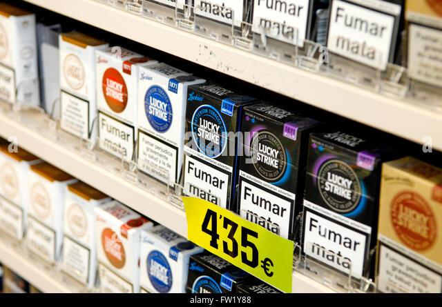 Coupons cigarettes United Kingdom