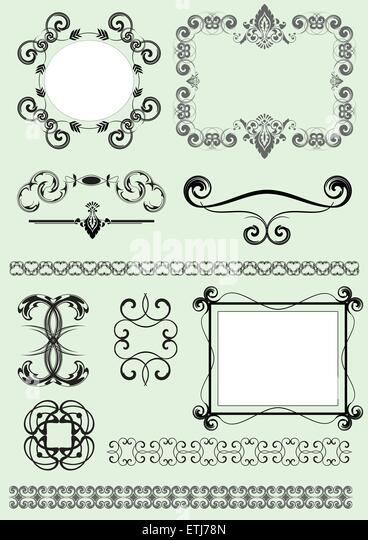 decorative swash stock photos amp decorative swash stock