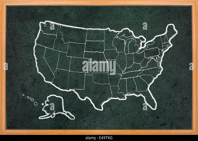 Us Map Stock Photos Us Map Stock Images Alamy - Draw on us map