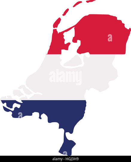 Netherlands Map Stock Photos Netherlands Map Stock Images Alamy