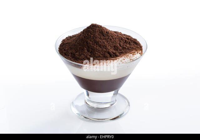 Chocolate Blancmange Stock Photos & Chocolate Blancmange ...