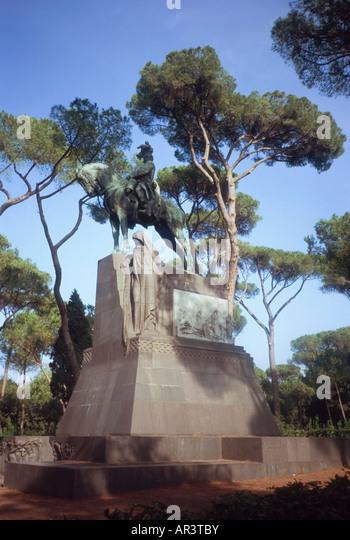 Monument King Umberto I In Villa Borghese Park