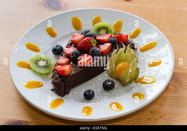 Cake With Fruit Puree : Fruit Puree Stock Photos & Fruit Puree Stock Images - Alamy