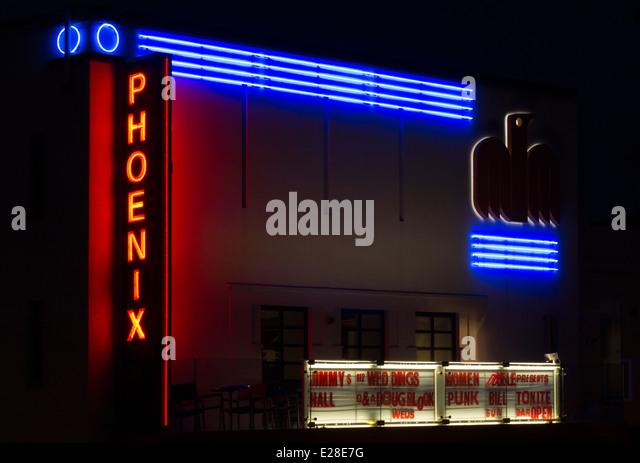 Cinema Sign London Stock Photos Amp Cinema Sign London Stock