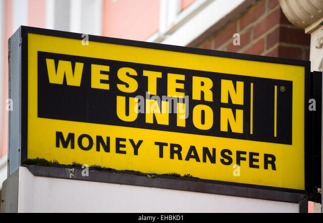 Western union money stock photos western union money stock images alamy - Western union bureau de change ...