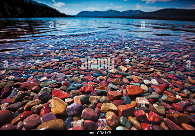 colorful-rocks-on-lake-mcdonald-in-glacier-national-park-cfm1yb Goodwill Color Of The Week Schedule