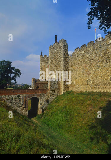 Moated Castles Stock Photos Moated Castles Stock Images
