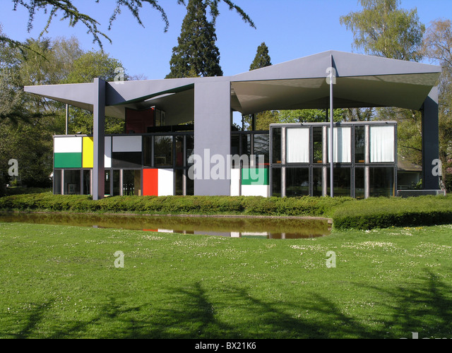 Le corbusier stock photos le corbusier stock images alamy for Modern house zurich