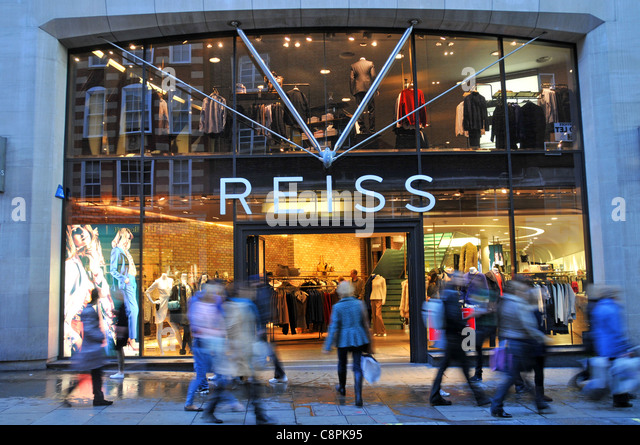 Reiss clothing store