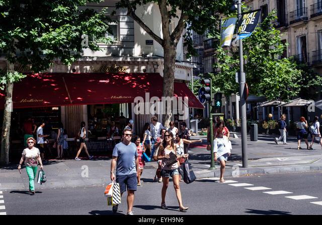 Serrano street madrid stock photos serrano street madrid - Joyeria calle serrano ...