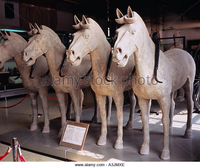 Terracotta Warriors Horse Stock Photos & Terracotta ...  Terracotta Warr...
