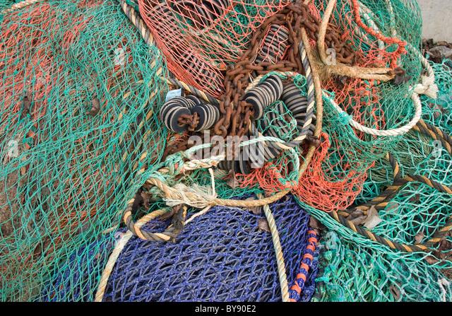 Trawler fishing nets stock photos trawler fishing nets for Sjfc fish r net