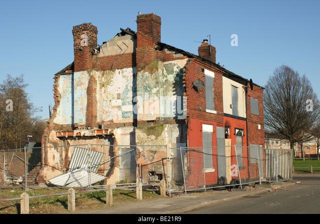 Manchester poverty stock photos manchester poverty stock for Bureau gallery manchester