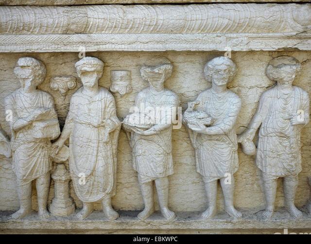 Roman reliefs stock photos images