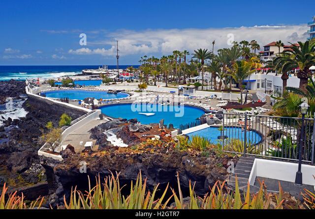 Tenerife Sea Water Swimming Pool Stockfotos Und Tenerife Sea Water ... Design Des Swimmingpools Richtig Wahlen