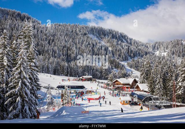 Morzine skiing stock photos morzine skiing stock images - Office du tourisme morzine haute savoie ...