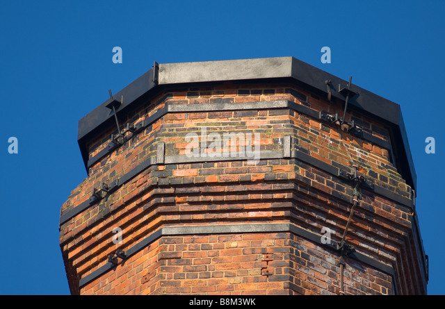 Chimney Construction Materials : Used as building material stock photos