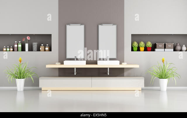 Contemporary Bathroom Niche bathroom niche stock photos & bathroom niche stock images - alamy
