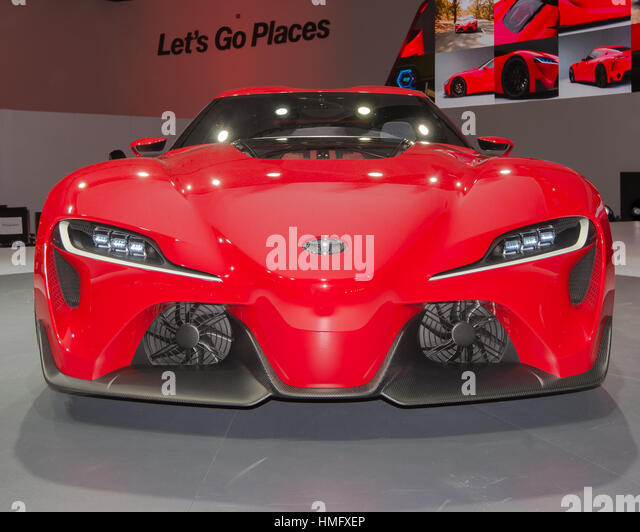 DETROIT, MI/USA   JANUARY 13: The Toyota FT 1 Concept Car