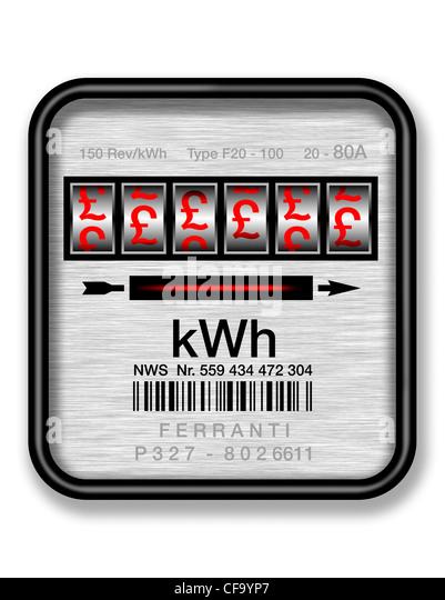 Electric Meter Cans Sign : Pound signs stock photos images alamy