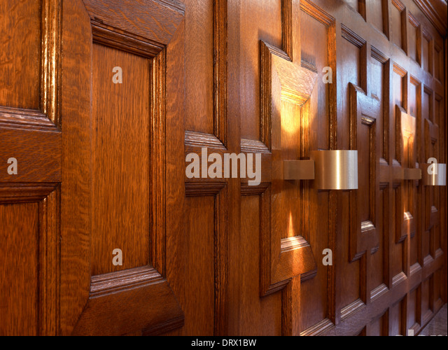 oak paneling stock photos & oak paneling stock images - alamy
