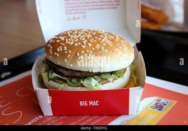 Big Mac Meal Stock Photos & Big Mac Meal Stock Images - Alamy