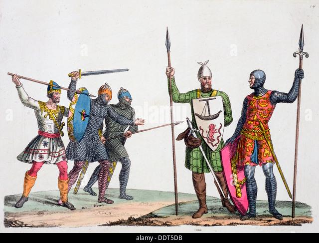 Anglo-saxon warriors