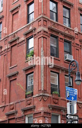 Brick Apartment Building Window red brick apartment building fire stock photos & red brick