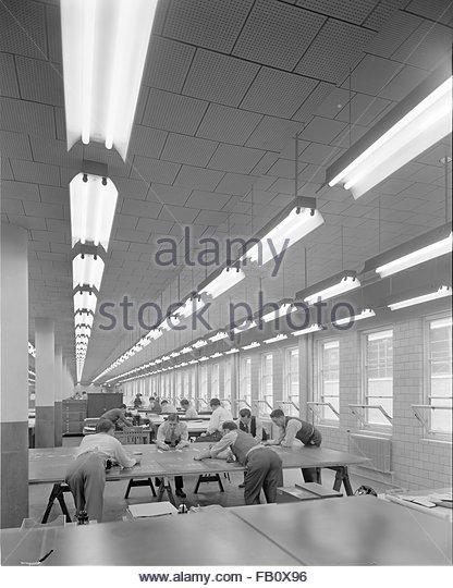 Curtis Wright Airplane Factory Heritage Stock Photos