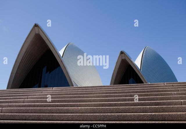 Sydney opera house steps stock photos sydney opera house for 3999 roof