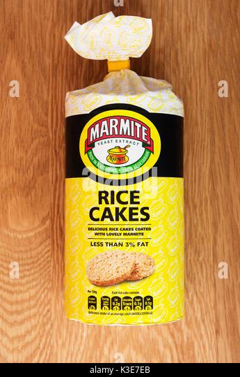 Marmite Mini Rice Cakes