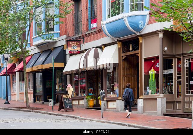 Old Port Maine Stock Photos & Old Port Maine Stock Images - Alamy