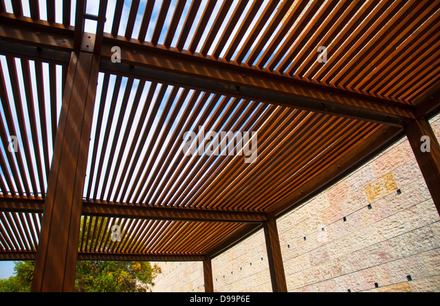 Wooden Pergola Stock Photos Images
