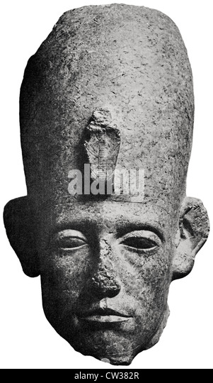 an analysis of the colossal head in ancient egypt Egyptian sculpture, statues, reliefs of ancient egypt: history, types,  for wall- reliefs, the capitals of columns, colossal figures guarding the pylons, and for  in  the seated figures there is the same set pose of the head, body, and lower limbs.
