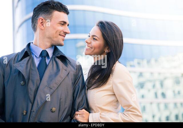 video couples flirting inside building