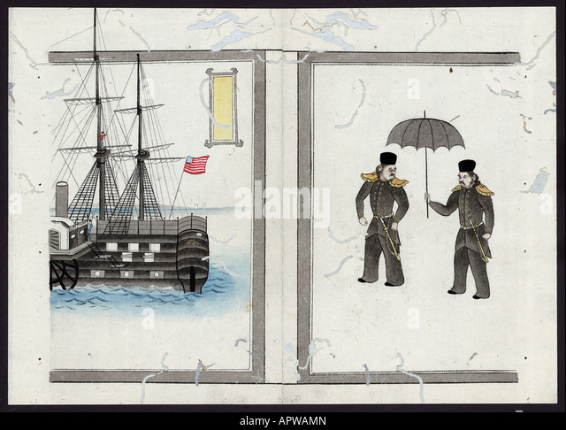 commodore perrys journey to japan In 1852, commodore matthew perry (1794-1858) was dispatched to japan by  us president millard fillmore (1800-1874) to re-establish for the first time in  over.