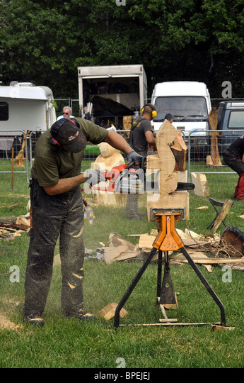 Woodfest wales stock photos images