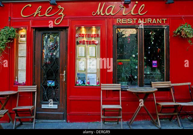 Restaurant chez marie stock photos restaurant chez marie for Restaurant chez marie marseille