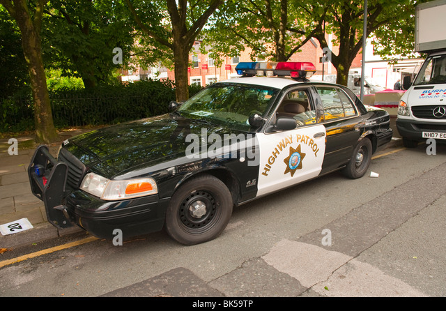 Rhode Island Police Traffic Patrol